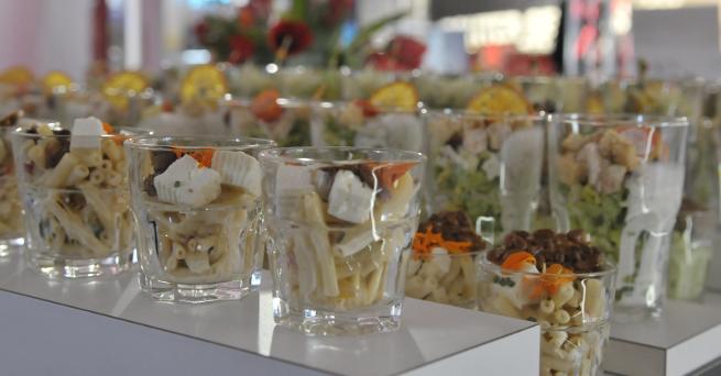 Italienisches Catering-Büffet