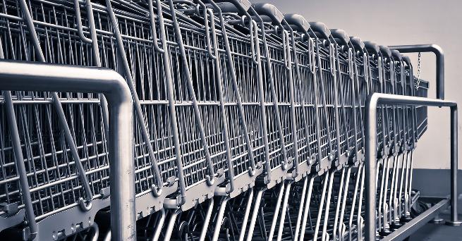 Lebensmittel-Einkauf gut geplant