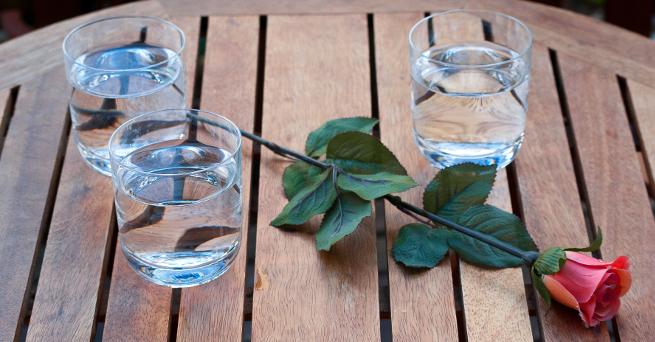 Modegetränk Mineralwasser