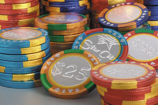 Schokoladenmünzen